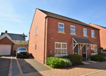 Thumbnail 3 bed semi-detached house for sale in Primrose Close, East Leake, Loughborough