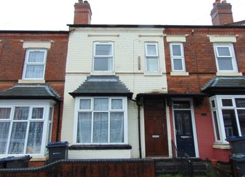 Thumbnail 2 bed terraced house for sale in Maitland Road, Alum Rock, Birmingham