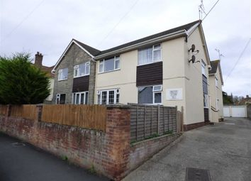 Thumbnail 1 bedroom flat for sale in Old Church Road, Uphill, Weston-Super-Mare