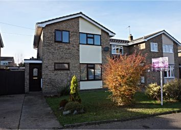 Thumbnail 3 bed detached house for sale in Longfield Way, Lowestoft
