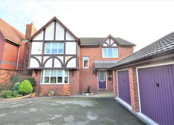 Thumbnail 4 bed detached house for sale in Sawthorpe Walk, Poulton Le Fylde, Blackpool, Lancashire