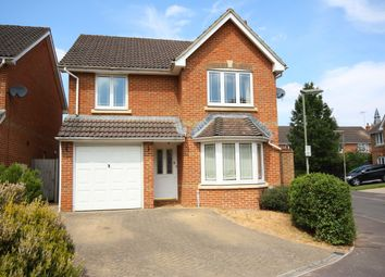 Thumbnail 4 bed detached house to rent in Cavell Way, Knaphill, Woking