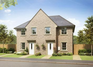 """Thumbnail 3 bed semi-detached house for sale in """"Palmerston"""" at Fagley Lane, Bradford"""