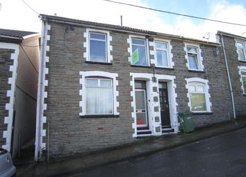 Thumbnail 3 bed end terrace house for sale in Usk Road, Bargoed