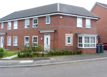 Thumbnail 3 bed town house for sale in Monksway, Kings Norton, Birmingham
