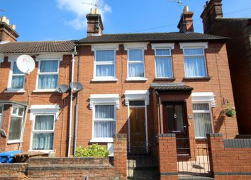 Thumbnail 2 bedroom terraced house to rent in Upland Road, Ipswich