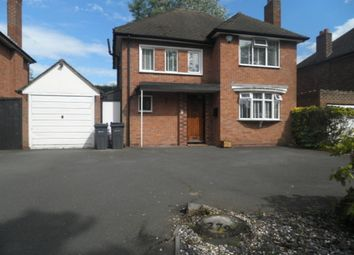 Thumbnail 3 bed detached house to rent in Birmingham Road, Wylde Green, Sutton Coldfield