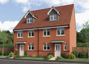 "Thumbnail 4 bed town house for sale in ""Auden"" at Rykneld Road, Littleover, Derby"