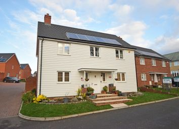 Thumbnail 4 bed detached house to rent in Allamand Close, Church Crookham, Fleet