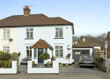 Thumbnail 3 bed semi-detached house for sale in Steels Lane, Oxshott, Leatherhead, Surrey