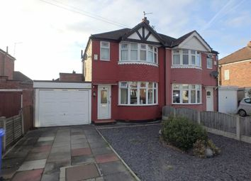 Thumbnail 3 bed semi-detached house for sale in Malpas Drive, Great Sankey, Warrington, Cheshire