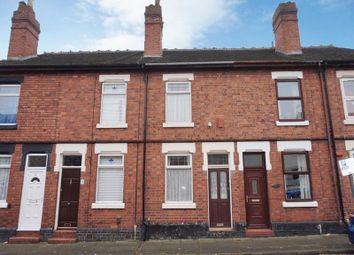 Thumbnail Terraced house for sale in Chilton Street, Heron Cross, Stoke-On-Trent, Staffordshire