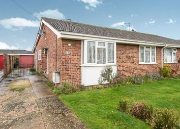 Thumbnail 3 bed semi-detached bungalow for sale in Impala Close, Sprowston, Norwich