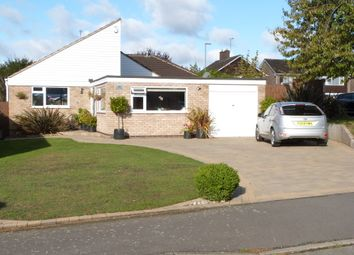 Thumbnail 4 bed detached bungalow for sale in Brington Close, Wigston