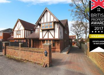 Thumbnail 5 bed detached house for sale in Creek View Avenue, Hullbridge, Hockley