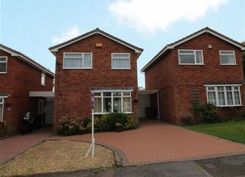 Thumbnail 3 bed detached house for sale in Giles Road, Lichfield