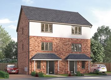 "Thumbnail 3 bed semi-detached house for sale in ""The Paignton"" at Ward Road, Clipstone Village, Mansfield"