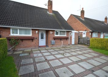 Thumbnail 2 bed semi-detached bungalow for sale in Marston Close, Eastham, Merseyside