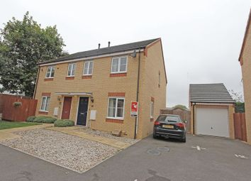 Thumbnail 3 bed semi-detached house to rent in Brooklands Way, Bourne