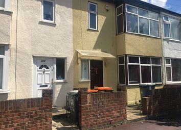 Thumbnail 4 bedroom terraced house to rent in Grantham Road, Manor Park