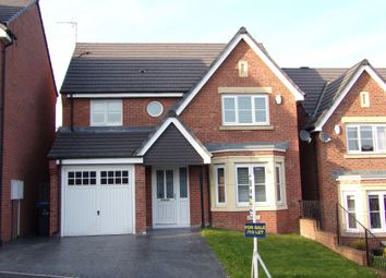 Thumbnail 4 bed detached house to rent in Highfield Rise, Chester Le Street