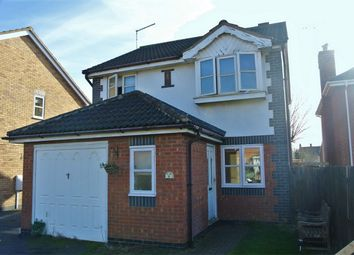 Thumbnail 3 bed detached house for sale in Wakes Close, Bourne, Lincolnshire