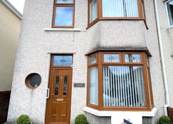 Thumbnail 3 bed semi-detached house for sale in Llewellyn Street, Trecynon, Aberdare