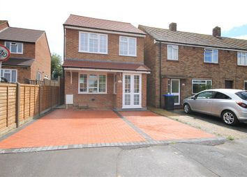 Thumbnail 3 bed detached house for sale in Ledger Drive, Addlestone, Surrey