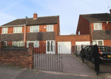 Thumbnail 3 bedroom semi-detached house to rent in North Street, Walsall