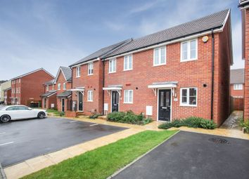 Thumbnail 2 bedroom end terrace house for sale in Montgomery Grove, Dunstable