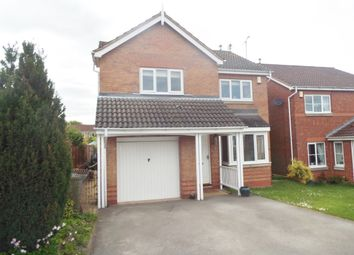 Thumbnail 4 bed detached house for sale in Cromwell Close, Gateford, Worksop