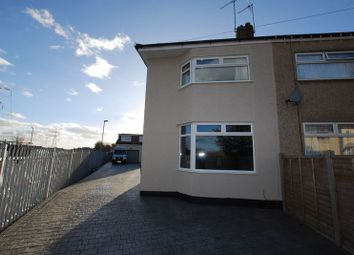 Thumbnail 2 bed semi-detached house to rent in Wallscourt Road South, Filton, Bristol