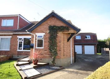 Thumbnail 4 bed bungalow for sale in Holmes Close, Horndon-On-The-Hill, Stanford-Le-Hope