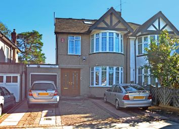Thumbnail 5 bed semi-detached house for sale in Elmgate Gardens, Edgware, Middlesex