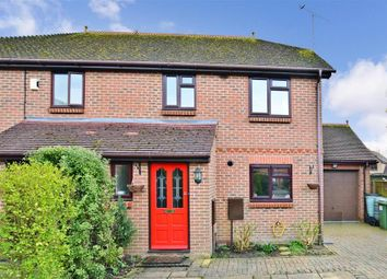 Thumbnail 3 bedroom semi-detached house for sale in Bailey Close, Horsham, West Sussex