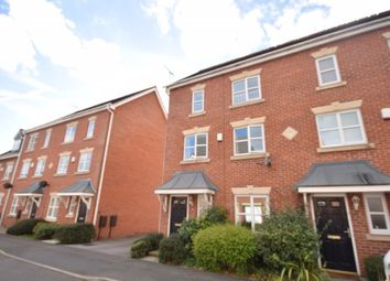 Thumbnail 4 bed terraced house to rent in Riveraine Close, Sutton-In-Ashfield