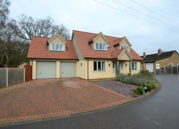 Thumbnail 4 bed detached house for sale in Common Road, Snettisham, King's Lynn, Norfolk.