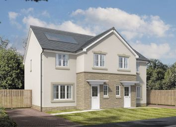 Thumbnail 3 bed semi-detached house for sale in Off Boghall Road, Carluke