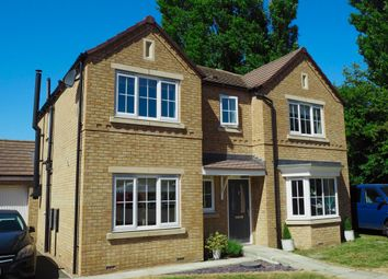 Thumbnail 4 bed detached house for sale in Chatsworth Close, Laceby, Grimsby
