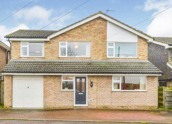 Thumbnail 4 bed detached house for sale in Station Road, Castlethorpe, Milton Keynes