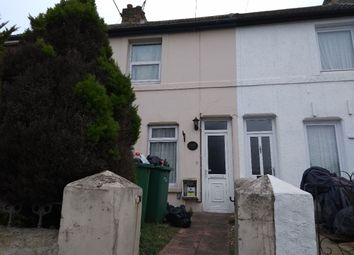 Thumbnail 2 bed terraced house to rent in Foord Road, Folkestone