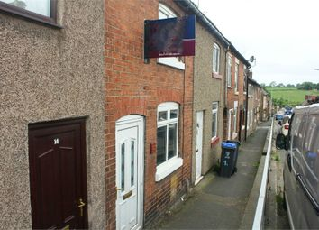Thumbnail 2 bed terraced house for sale in The Green, Kingsley, Stoke-On-Trent, Staffordshire