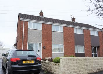 Thumbnail 3 bed semi-detached house for sale in Lan Coed, Winch Wen