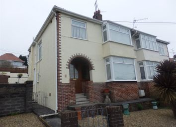 Thumbnail 3 bed semi-detached house for sale in Hillside, Furnace, Llanelli