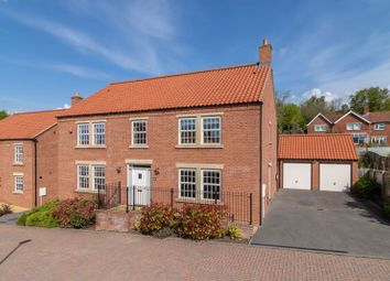 Thumbnail 5 bed detached house for sale in South View, East End, Ampleforth, York