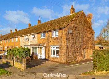 Thumbnail 3 bed end terrace house for sale in Henderson Close, St. Albans, Hertfordshire