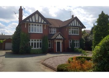 Thumbnail 5 bed detached house for sale in Crewe Road, Nantwich