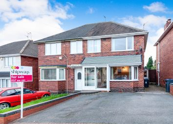Thumbnail 3 bed semi-detached house for sale in Somercotes Road, Great Barr, Birmingham