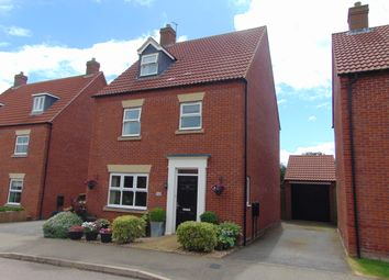 Thumbnail 4 bed detached house for sale in The Ride, Desborough