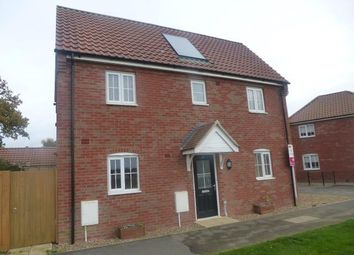 Thumbnail 2 bed property to rent in Carpenter Close, Wymondham